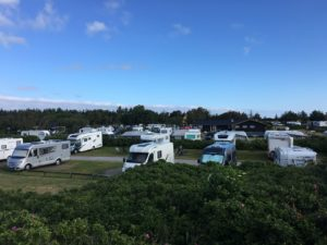 Campsite Camping Tourists Holiday Mobile Home